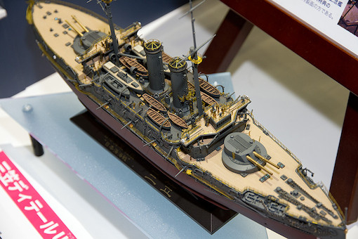 """1/350 日本海軍 戦艦 三笠 """"日本海海戦"""" 2"""