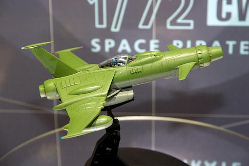 1/72 スペースウルフ SW-190(宇宙海賊キャプテンハーロック) 2