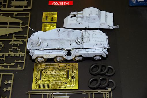 AFV CLUB 1/35 ドイツ 偵察用8輪重装甲車 Sd.Kfz.231初期型 1