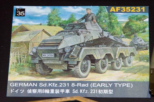 AFV CLUB 1/35 ドイツ 偵察用8輪重装甲車 Sd.Kfz.231初期型 POP