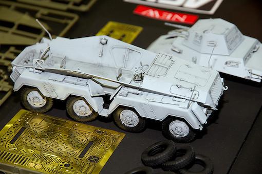 AFV CLUB 1/35 ドイツ 偵察用8輪重装甲車 Sd.Kfz.231初期型 2