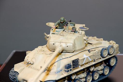 1/35 イスラエル軍戦車 M51スーパーシャーマン 5