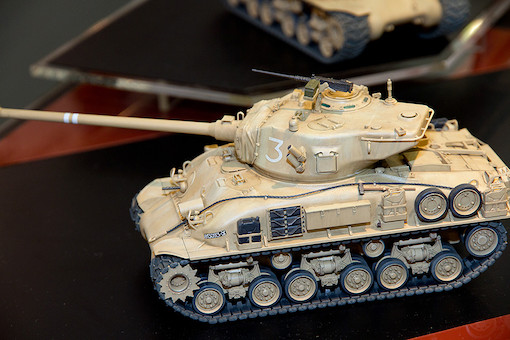 1/35 イスラエル軍戦車 M51スーパーシャーマン 6