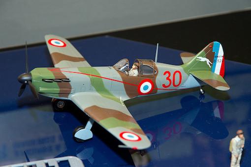 1/48 デヴォアティーヌD.520 エース搭乗機(スタッフカー付き) 4