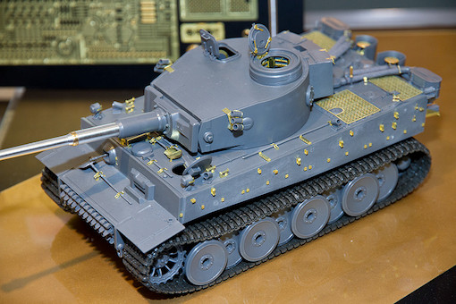 1/35 ドイツ重戦車 タイガーI初期生産型 1
