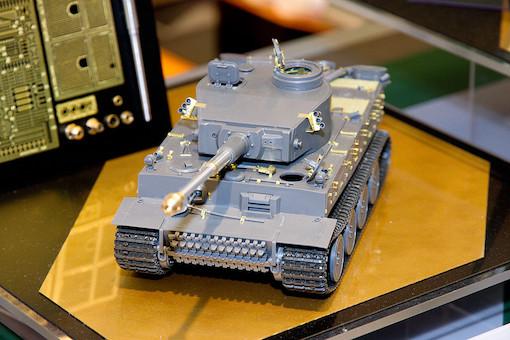 1/35 ドイツ重戦車 タイガーI初期生産型 4