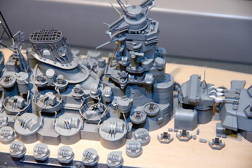 1/350 日本戦艦 大和 9