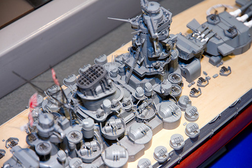 1/350 日本戦艦 大和 11