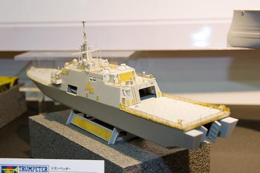 1/350 アメリカ海軍 沿岸域戦闘艦 LCS-1 フリーダム 3