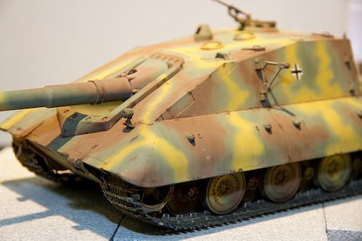 1/35 ドイツ軍 E-100重駆逐戦車 サラマンドル 7