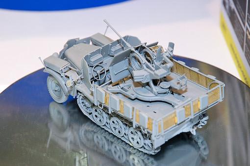 1/35 Sd.Kfz.10/5 w/Armor Cab für 2cm Flak38 4