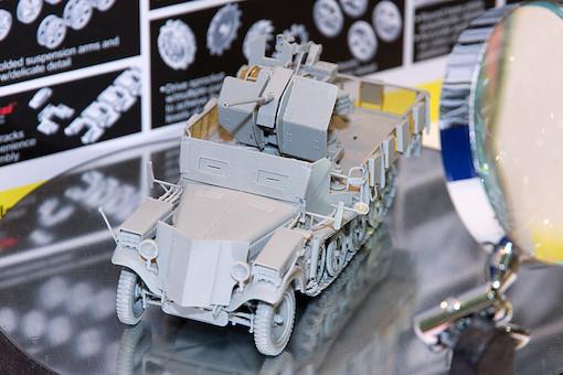 1/35 Sd.Kfz.10/5 w/Armor Cab für 2cm Flak38 1