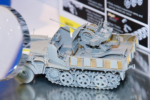 1/35 Sd.Kfz.10/5 w/Armor Cab für 2cm Flak38 2