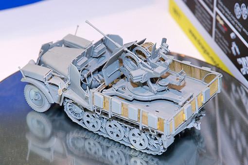 1/35 Sd.Kfz.10/5 w/Armor Cab für 2cm Flak38 3