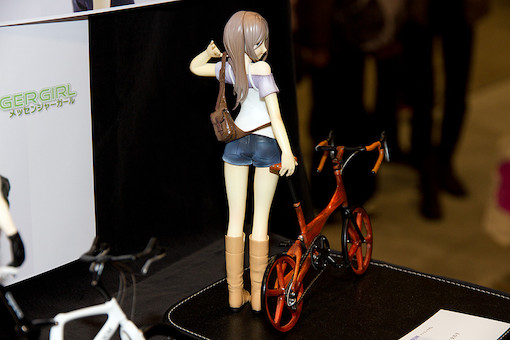オリジナル自転車と女の子 3