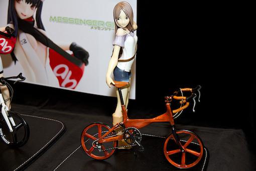 オリジナル自転車と女の子 1