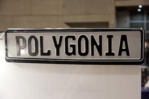 polygonia ロゴ