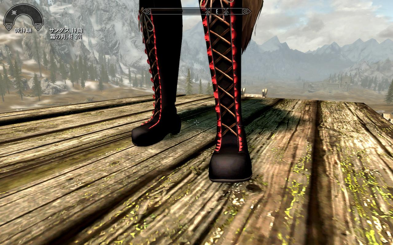 Skyrim SE】Skyrim Special Editionで『HDT HighHeels System』を使って