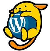 ja.wordpress.org 公式キャラクター『わぷー』